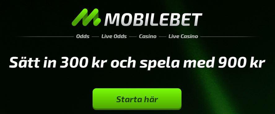 Bli medlem hos Mobilebet Casino