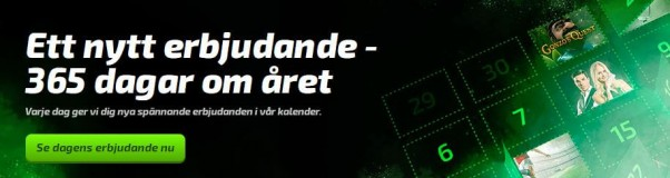 Spela med free spins varje dag hos Mobilebet